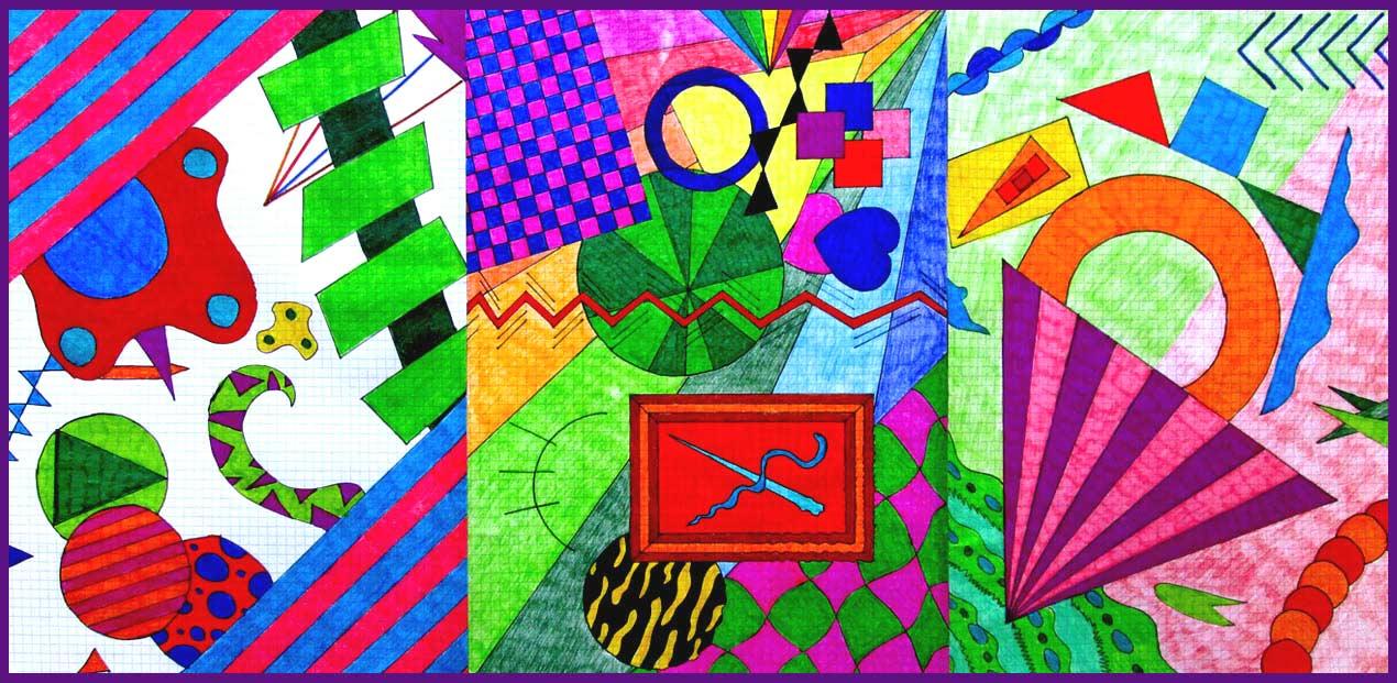 Favoloso Il Giornalino Online della Scuola Media Calvino: Elaborati di Arte  BB21